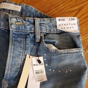 TOPMAN Jeans Stretch Skinny